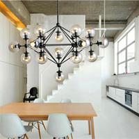art beans - Modo Magic Bean Chandeliers Pendant Lights Lamps Lighting Fixtures For Living Room Mall Hotel AC110 V LED DNA Bubble Glass Ball CE FCC