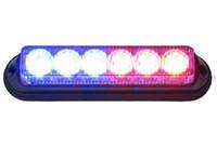Precio de El tráfico de potencia-100% a prueba de agua luz estroboscópica LED 6 * 1W de alta potencia LED con patrones de flash llevó luz de advertencia Traffic Advisors Luz KF-L3019