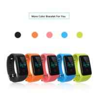 Wholesale 2016 new Smart Wristbands V16 with Heart Rate Call Dial Answer Call Camera Bluetooth for iPhone Andriod Phone Bands T10
