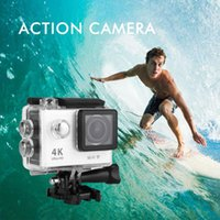 action images photos - DHL Ship Waterproof Action Camera Inch H9 Sports DV K Ultra HD LCD Wifi Video Motion Recording Display Photo Camera Shooting