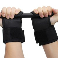 Wholesale Fitness Hands Pads protector Weightlifting Pull up Non slip With Wrist Dumbbells Training Gym Gloves L255