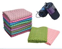 Wholesale Skidless Yoga Blankets Mat Towel Silicon Nubs Brand New Non Slip Yoga Blankets Any Colors Fash Ship Gram