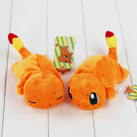 Wholesale Cute Anime Poke Charmander Mouse Pad Plush Soft Stuffed Doll Toy Mouse Pad for girls gift styles
