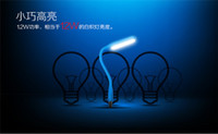 led led manufacturer - Manufacturer Micro USB hight quality flexible material Mixed Color LED portable usb lamps Night Lights book light