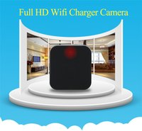 Wholesale HD P No Hole Charger Camera WIFI IP Camera With Motion Detection Security Camcorder Wireless camera for android IOS Mobile Nanny Cam