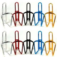 Wholesale Outdoor Sports Bike Bicycle Water Bottle Cage Holder Bike Aluminum Alloy Water Bottle Cage Bicycle Cycling Water Bottle Rack Holder