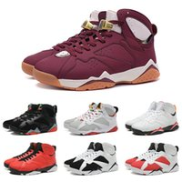 basketball shoes black - Drop Shipping Basketball Shoes Men Retro Dan VII Sneakers Boots Authentic Discount Outdoor Hot Sale Sports Shoes Size