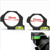 Wholesale Alloy Bubble Level fit mm mm Laser scope Sight Tube for Hunting
