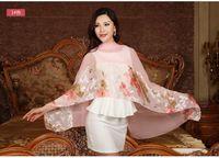 Wholesale Trippingly Splendor Imitate Silk Scarf Female Autumn And Winter Fashion Scarf All match shawl