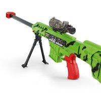airgun sniper rifle - Barrette Continuous Bullet Sniper Rifle Nerf Gun Uninstall Boy Toy Gun Flare Light Pistol Gun Soft Water Crystal Bullet Airgun