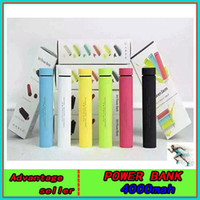 battery powered speakers for iphone - universal Power bank Speaker mAh usb chargers Mini Portable Speakers External battery charger for iPhone s Samsung HTC cellphones