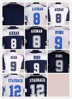 alfred blue - 8 Troy Aikman Daryl Johnston Jay Novacek Alfred Morris Bob Lilly Blue White Thanksgiving New Football Jerseys