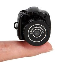 Wholesale Brand New Camcorder Video Recorder DVR Mini Spy Camera Hidden Pinhole Web cam Y2000