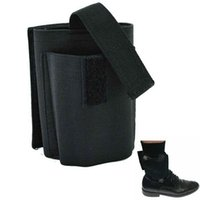 Wholesale BLACK Concealed Ankle Holster Universal Right Left Holster for Small Medium Pistols shooting accessories