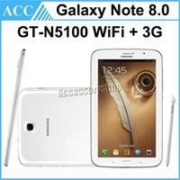 android tablet manufacturers - Refurbished Original Samsung Note inch GT N5100 N5100 GB Wifi G Unlocked Phablet Phone Call Tablet PC