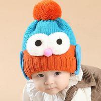 big bird hats - 15Pieces Baby autumn winter warm hat little penguins knitted cap cartoon bird big eyes hat