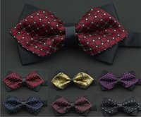 Wholesale 2016 Men s Fashion Bowties Party Bow Ties Evening Bowtie Wedding Bow tie BYG10004