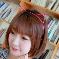 Wholesale New Sexy Lady headbands Cute Cat Ear Hoop Little Devil Headband Party Cosplay Fancy Headband