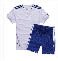 Wholesale Plate football suit football training uniform Personality number printe customized name soccer jersey set