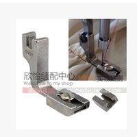 Wholesale Industrial sewing machine presser foot flat pleated fold pressure foot puckering presser foot steel