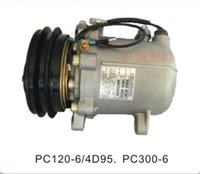 Wholesale Komatsu PC300 PC120 D95 air conditioning cooling air conditioning compressor air conditioning compressor pumps Komatsu good