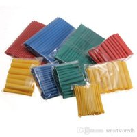 Wholesale Colorful Packaged Assortment Heat Shrink Tubing Tube Sleeving Wrap Wire Size Kit Lemons B00373 OSTH