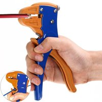 Wholesale New Arrival HS D Automatic Self adjusting Insulation Wire Stripper Cutter Hand Crimping Tool Stripping Cutter