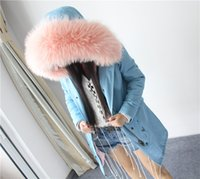 Wholesale top quality brand Plus Size new winter jacket coat women natural real large raccoon fur hooded parka women thick warm