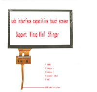 Wholesale Carpc Carputer Car Industrial control touch screen support TN64 HSD080IFW1 WINXP WIN7 finger