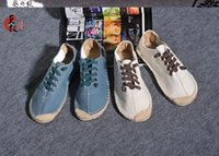 ancient chinese shoes - The new Chinese cloth shoes lazy slip on breathable pure manual tide restoring ancient ways men sandals