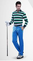 Wholesale PGM authentic golf pants thicker version of the Spring and Autumn trousers high elastic sports pants men s clothing section of high elastic