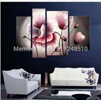 art cost - oil painting Blooming Modern Home TOP Art Deco OIL painting shipping cost
