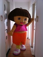 dora mascot - adult dora the explorer mascot costumes EVA head and body good quality product same as the picture shown