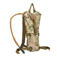 backpack water bottle - Bottle Pouch Tactical Kamp Malzemeleri Hydration High Quality Backpack Water Bag Camping Camelback Bicycle Mochila Hydration