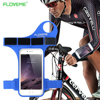 arm thumb - Waterproof Sport Riding Arm Band Case With Thumb Hole For iPhone S For iPhone Plus S Plus Touchable Screen Running Bag