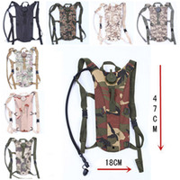 Wholesale 10 Color US Army L Hydration Pack Bladder Water Bag Pouch Hiking Climbing Survival Outdoor Backpack High Quality Free DHL E596L