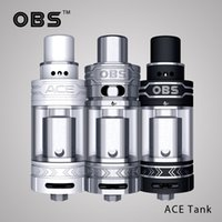 ace ceramic - Original OBS ACE RBA Tank Newest Arrival Electronic Cigarettes Starter Side Filling Atomizer Ceramic Coil VS OBS Crius RTA Gemini rta tank