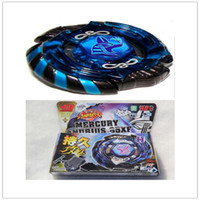 Wholesale Beyblade D Metal Fusion Metal Beyblade Mercury Anubis Anubius Black Blue Legend Version Limited Edition kids toys
