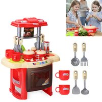 Wholesale Kids toys Mother garden Beauty Kitchen Cooking Toy Play set for Children and parents games play