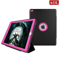armor auto - For iPad pro quot Heavy Duty Armor Impact Rugged Shock Proof Hybrid Defender Case With Auto Sleep Awake Cover With Screen Protector