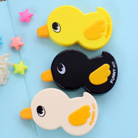 Wholesale Cute Duck Shape Correction Tape Student Stationery Kid Children Prize Gifts Material Escolar