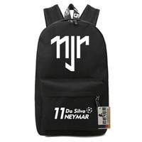 barcelona bags - Barcelona Neymar backpacks waterproof school bags boys girls kids bookbag soccer sport bags men travel bags