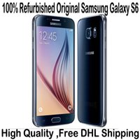 att wholesale - 100 Refurbished Original Samsung Galaxy S6 G920A G920T G920P G920V G920F Unlocked Cell Phone Octa Core GB GB ATT T mobile Sprint Verizon