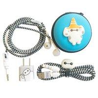 apple winding wire - Apple headset phone line protection Cable Protection noose rope winding wire