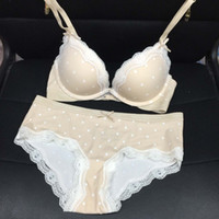 Wholesale 2016 New Women s Underwear Bra Sets Tommy Dress Sexy Thin Transparent Lace Bras Sets Hollow Straps Lingerie Bra Underwear Sets