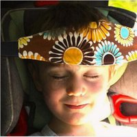Wholesale 300pcs CCA4140 High Quality Car Safety Seat Sleep Positioner Infants Head Support Pram Stroller Fastening Belt Adjustable Baby Sleep Tools