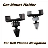 airs instrument - Universal Car mount air vent mount vehicle navigation instrument moible phone holder For iphone5 s s