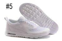 Wholesale New Men Women Fashion Air Soft Cushion Casual shoes print Thea Running Shoes jogging outdoors shoes max