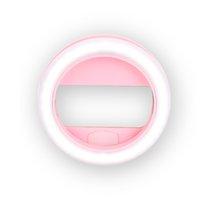 beauty ring light - 30 leds beauty Flash light Big selfie ring light with clip on smart mobile phones
