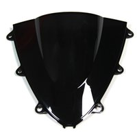 Wholesale Injection ABS Plastics Double Bubble Tinted Motorcycle Windshield For Honda CBR1000RR Year Windscreen